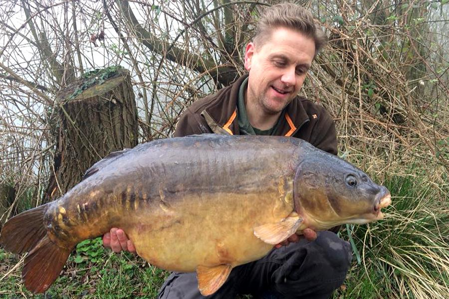 Paul with a Carp Fish
